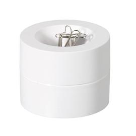 Klammernspender ø 73mm x 60mm weiß magnetisch Maul 30123-02 Produktbild