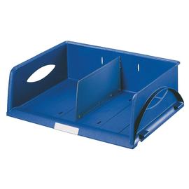 Briefkorb Sorty quer für A4/C4 372x110x270mm blau Kunststoff Leitz 5230-00-35 Produktbild
