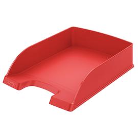 Briefkorb Standard für A4 242x63x340mm rot Kunststoff Leitz 5227-00-25 Produktbild