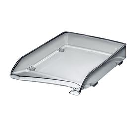 Briefkorb Elegant für A4 244x52x335mm grau transparent kunststoff Leitz 5220-00-90 Produktbild