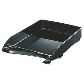 Briefkorb Elegant für A4 244x52x335mm schwarz Kunststoff Leitz 5220-00-95 Produktbild