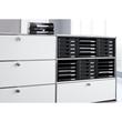 Schubladenbox 5 Schübe offen 275x330x320mm schwarz Kunststoff HAN 1401-13 Produktbild Additional View 3 S