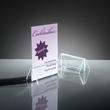 Kartenhalter mit Klemmfunktion 100x45mm glasklar Acryl Sigel TA150 (PACK=2 STÜCK) Produktbild Additional View 2 S
