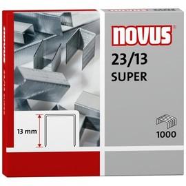 Heftklammern 23/13 SUPER verzinkt Novus 042-0533 (PACK=1000 STÜCK) Produktbild