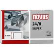 Heftklammern 24/8 SUPER Novus 040-0038 (PACK=1000 STÜCK) Produktbild