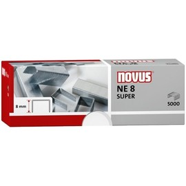 Heftklammern NE8 Novus 042-0002 (PACK=5000 STÜCK) Produktbild