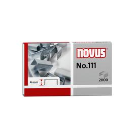 Heftklammern No.111 Novus 042-0036 (PACK=2000 STÜCK) Produktbild
