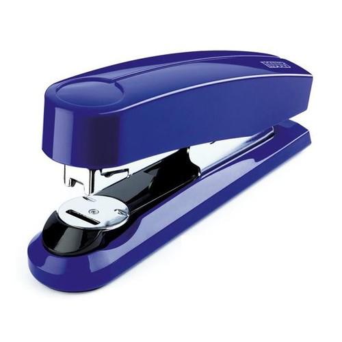 Heftgerät B4FC FlatClinch bis 50Blatt für 24/6+24/8+26/6+26/8 blau glänzend Novus 020-1468 Produktbild Front View L