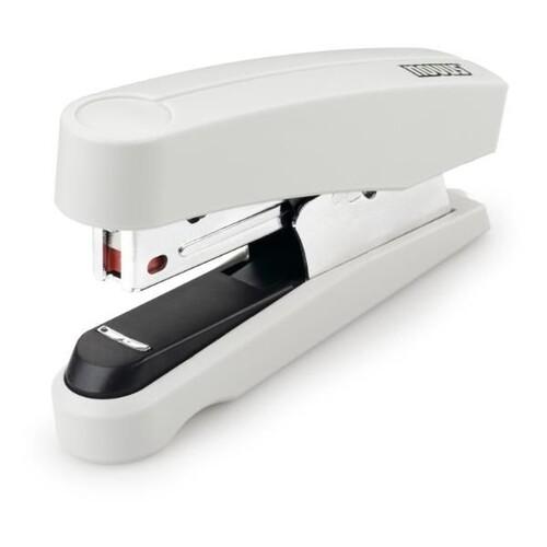Heftgerät B10FC Professional FlatClinch bis 20Blatt für No.10 grau Novus 020-2203 Produktbild Front View L