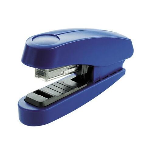 Heftgerät B10FC Professional FlatClinch bis 20Blatt für No.10 blau Novus 020-2202 Produktbild Front View L