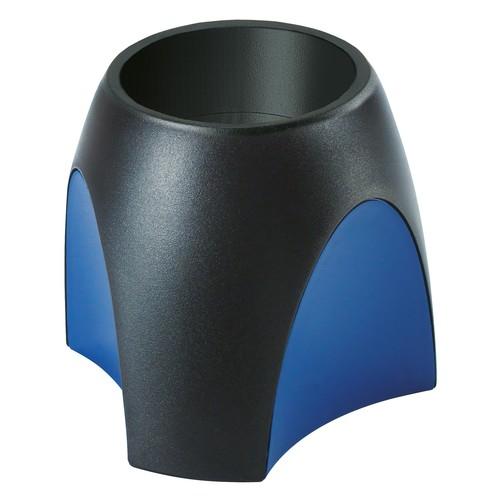 Köcher Delta 95x95x88mm schwarz-blau Kunststoff HAN 1753-34 Produktbild