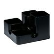 Köcher uni-butler 13x13x9cm schwarz Kunststoff Arlac 234-01 Produktbild