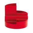 Köcher Rundbox Durchmesser 14cm/H 12,5cm rot Kunststoff Maul 41176-25 Produktbild