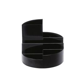Köcher Rundbox Durchmesser 14cm/H 12,5cm schwarz Kunststoff Maul 41176-90 Produktbild