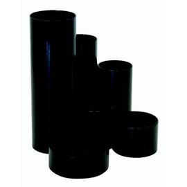 Schreibtisch-Boy schwarz Kunststoff Metzger & Mendle 685004-01 Produktbild