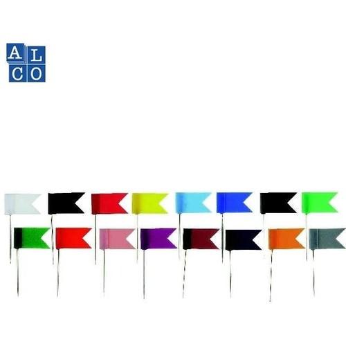 Markierfähnchen weiß ALCO 710 (PACK=20 STÜCK) Produktbild Front View L