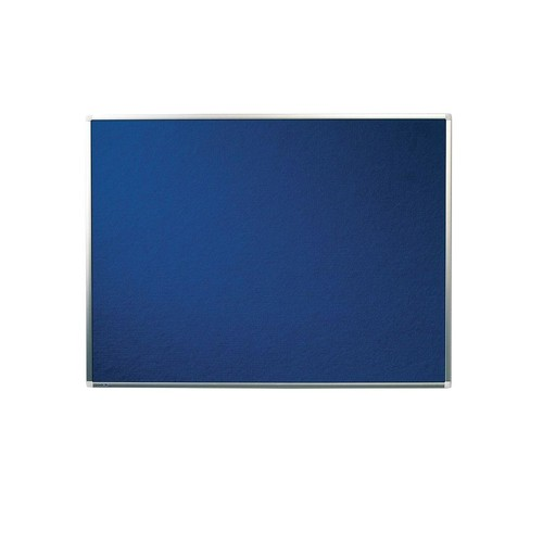 Textil-Pinnwand PREMIUM mit Aluminiumrahmen 90x120cm blau Legamaster 7-141554 Produktbild Additional View 1 L