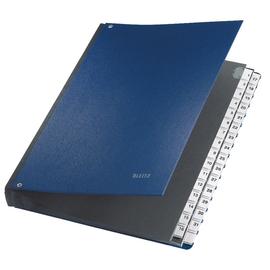 Pultordner 32 Fächer 1-31 A4 blau PP Leitz 5931-00-35 Produktbild