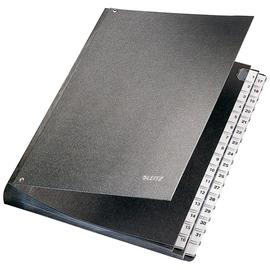 Pultordner 32 Fächer 1-31 A4 schwarz PP Leitz 5931-00-95 Produktbild