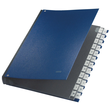 Pultordner 24 Fächer A-Z A4 blau PP Leitz 5924-00-35 Produktbild