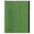 Ordnungsmappe chic mit Gummizug A4 mit 7 Fächern grün Karton Elba 400002025 Produktbild