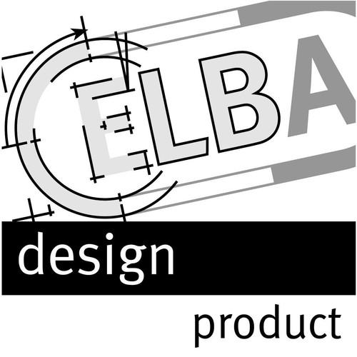 Ordnungsmappe chic mit Gummizug A4 mit 12 Fächern blau Karton Elba 400001035 Produktbild Additional View 2 L