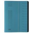 Ordnungsmappe chic mit Gummizug A4 mit 12 Fächern blau Karton Elba 400001035 Produktbild