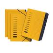 Ordnungsmappe mit 12 Fächern und Gummizug gelb Karton Pagna 24122-05 Produktbild Additional View 2 S