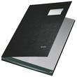 Unterschriftsmappe 10Fächer A4 schwarz PP Leitz 5701-00-95 Produktbild