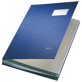 Unterschriftsmappe 20Fächer A4 blau PP Leitz 5700-00-35 Produktbild