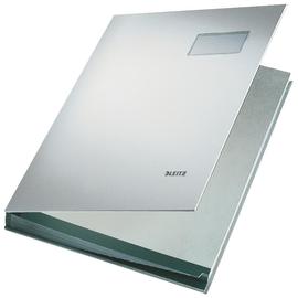 Unterschriftsmappe 20Fächer A4 grau PP Leitz 5700-00-85 Produktbild