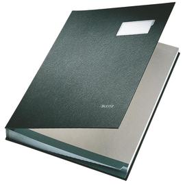 Unterschriftsmappe 20Fächer A4 schwarz PP Leitz 5700-00-95 Produktbild