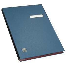Unterschriftsmappe 20Fächer A4 blau PVC Elba 400000997 Produktbild