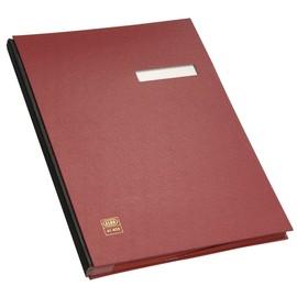 Unterschriftsmappe 20Fächer A4 rot PVC Elba 400001006 Produktbild