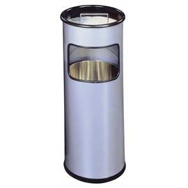 Standascher mit Abfallsammler 2l + 17l silber Metall Durable 3330-23 Produktbild