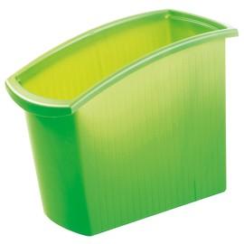 Papierkorb MONDO 18l transluzent grün HAN 1840-60 Produktbild