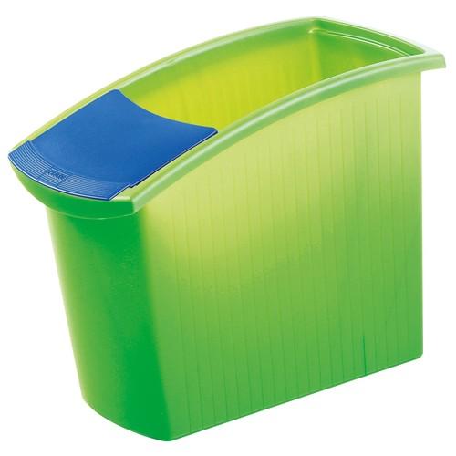 Papierkorb MONDO 18l transluzent grün HAN 1840-60 Produktbild Additional View 1 L