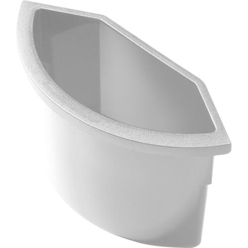 Abfalleinsatz ohne Deckel für H61059 2l lichtgrau Helit H6107282 Produktbild Front View L