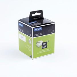 LabelWriter-Adress-Etiketten 36x89mm weiß Dymo S0722400 (PACK=2 STÜCK à 260 ETIKETTEN) Produktbild