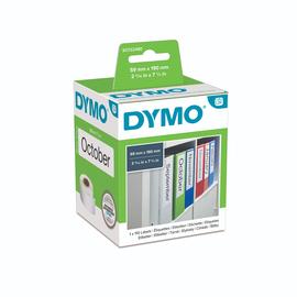 LabelWriter-Ordner-Etiketten breit 59x190mm weiß Dymo S0722480 (PACK=110 ETIKETTEN) Produktbild