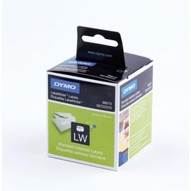 LabelWriter-Adress-Etiketten 28x89mm weiß Dymo S0722370 (PACK=2 STÜCK à 130 ETIKETTEN) Produktbild