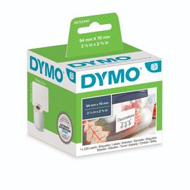 LabelWriter-Disketten-Etiketten 54x70mm weiß Dymo S0722440 (PACK=320 STÜCK) Produktbild
