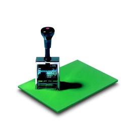 Stempelunterlage 17x23cm grün Naturkautschuk Läufer 65230 Produktbild
