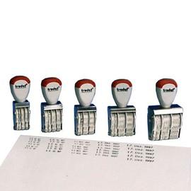 Datumstempel Monat-Buchstaben Schrifthöhe 3mm Trodat 1000 Produktbild