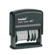 Wortbandstempel mit Datum Printy inkl. 12 Texte selbstfärbend Schrifthöhe 4mm schwarz Trodat 4817 Produktbild