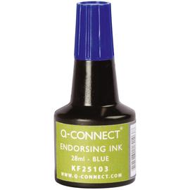 Stempelfarbe ohne Öl für Gummistempel 30ml blau BestStandard KF25103 (FL=30 MILLILITER) Produktbild