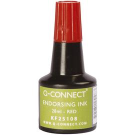 Stempelfarbe ohne Öl für Gummistempel 30ml rot BestStandard KF25108 (FL=30 MILLILITER) Produktbild