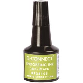Stempelfarbe ohne Öl für Gummistempel 30ml schwarz BestStandard KF25105 (FL=30 MILLILITER) Produktbild