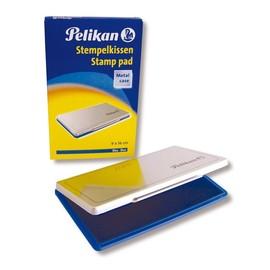 Stempelkissen 1 9x16cm blau Metall Pelikan 331124 Produktbild