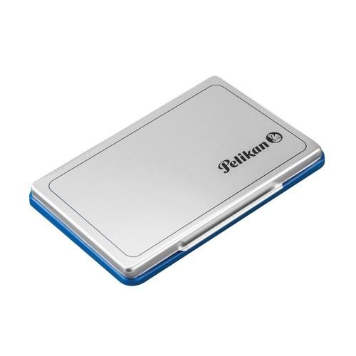 Stempelkissen 2 7x11cm blau Metall Pelikan 331017 Produktbild Additional View 2 L